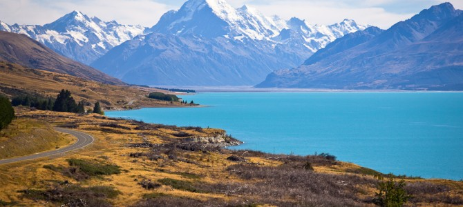 Lake Pukaki et Mount Cook