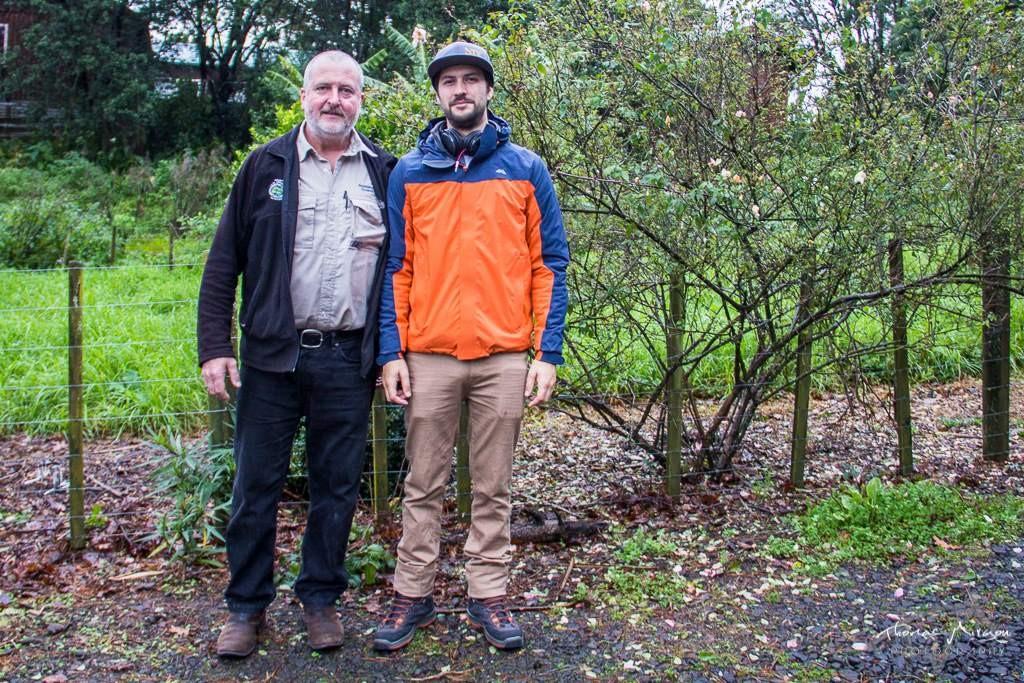Timi et Chris - HelpX vers Auckland